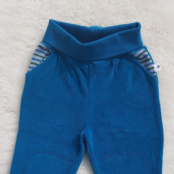 Leela Cotton Baby - Nickyhose ozeanblau